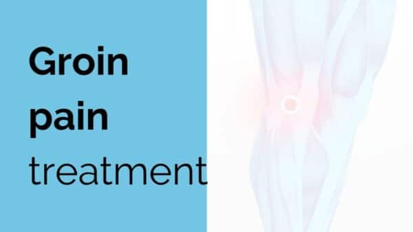 Groin pain treatment