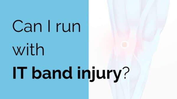 Can I run with IT band injury?