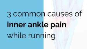 inner ankle pain