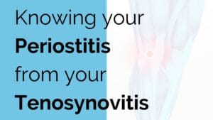 Knowing your Periostitis from your Tenosynovitis