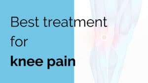 Best treatment for knee pain