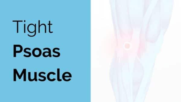tight psoas muscle